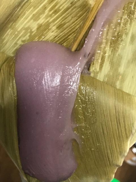 紫芋のムーチー