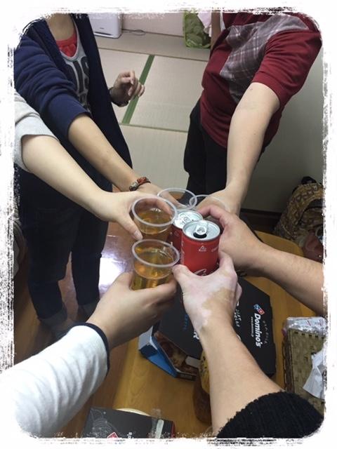 模合・乾杯